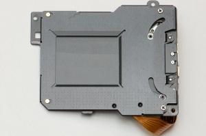 D2H shutter module - sensor side
