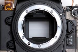 "D2H Nikon ""F"" lens mount"
